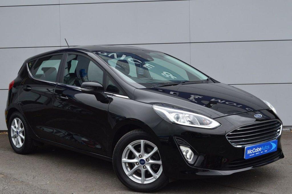 2018 Ford Fiesta 1.1 ZETEC Petrol Manual Low miles – McCabe Autos Belfast