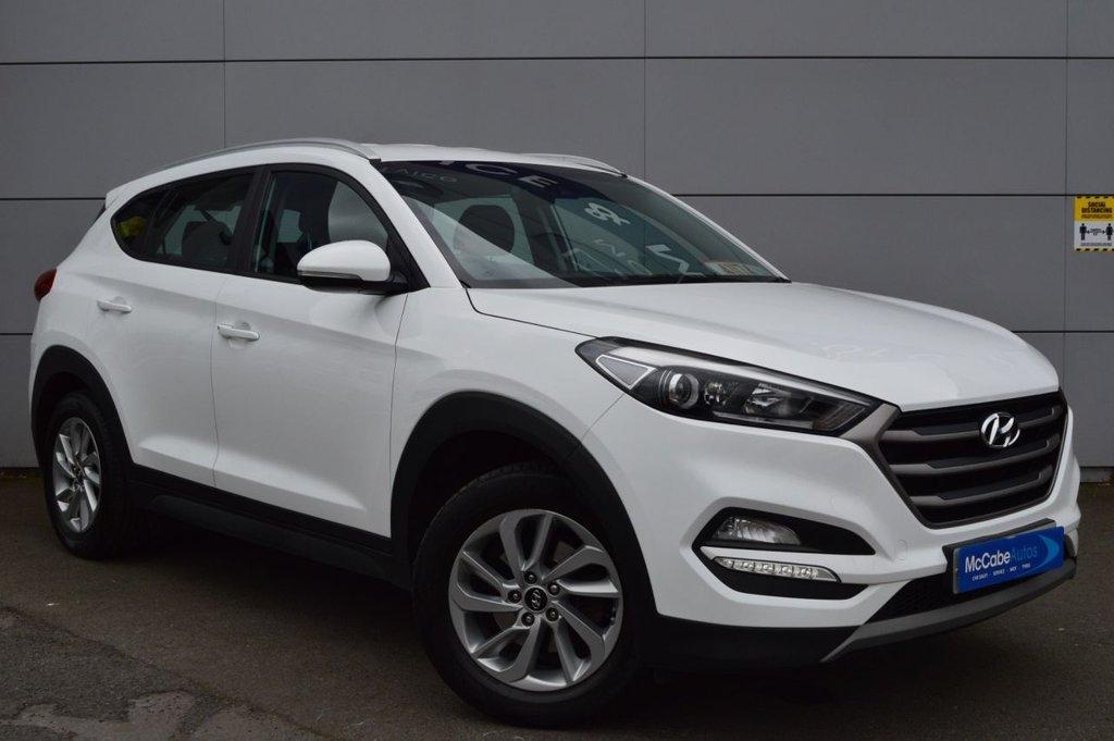 2018 Hyundai Tucson 1.6 GDI SE BLUE DRIVE Petrol Manual  – McCabe Autos Belfast