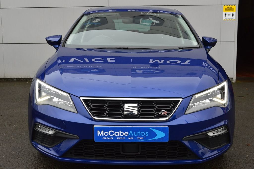 2018 SEAT Leon 1.4 TSI FR TECHNOLOGY Petrol Manual  – McCabe Autos Belfast full