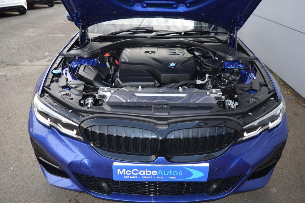 2019 BMW 3 Series 2.0 320I M SPORT Petrol Automatic  – McCabe Autos Belfast full