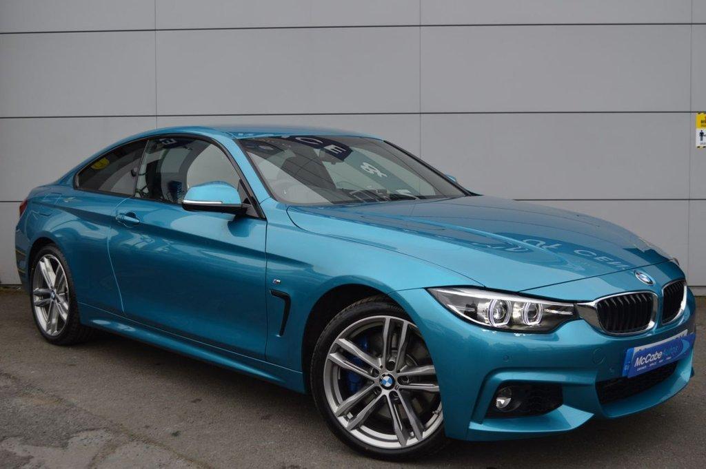 2019 BMW 4 Series 3.0 435D XDRIVE M SPORT Diesel Automatic  – McCabe Autos Belfast