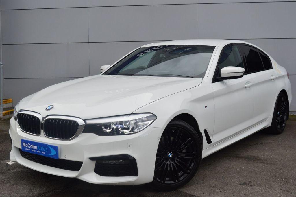 2019 BMW 5 Series 2.0 520D M SPORT Diesel Automatic  – McCabe Autos Belfast full