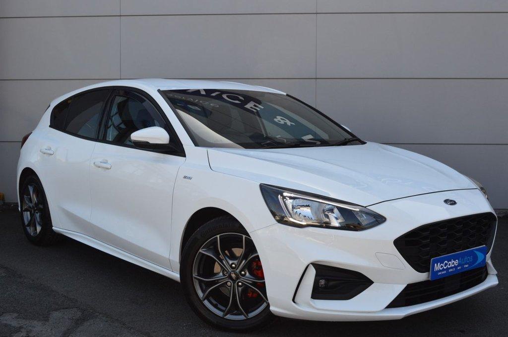 2019 Ford Focus 1.5 ST-LINE Petrol Manual  – McCabe Autos Belfast
