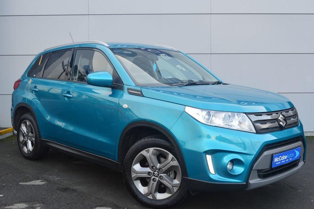 2018 Suzuki Vitara 1.6 SZ-T Petrol Manual  – McCabe Autos Belfast