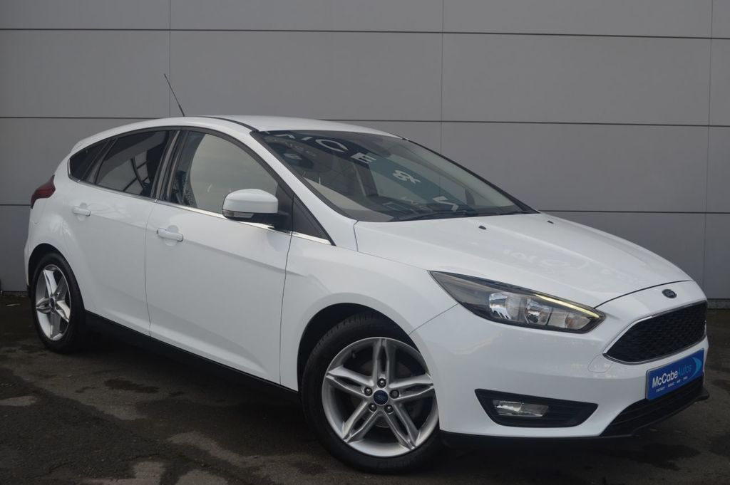 2015 Ford Focus ZETEC TDCI 1.6 TDCI ZETEC 5DR ONLY 28,000 MILES Diesel 6-Speed Manual – Mt82  – McCabe Autos Belfast