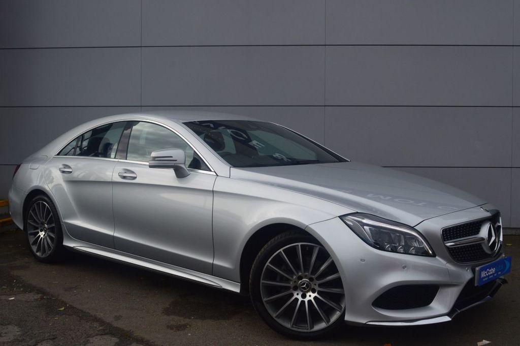 2017 Mercedes-Benz S Class J  CLS-CLASS 2.1 CLS220 D AMG LINE Diesel Automatic  – McCabe Autos Belfast