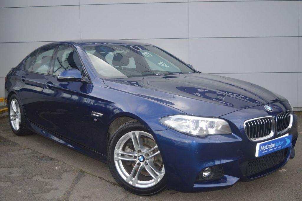 2016 BMW 5 Series 520 D M SPORT   late NOV 16 Diesel Automatic  – McCabe Autos Belfast