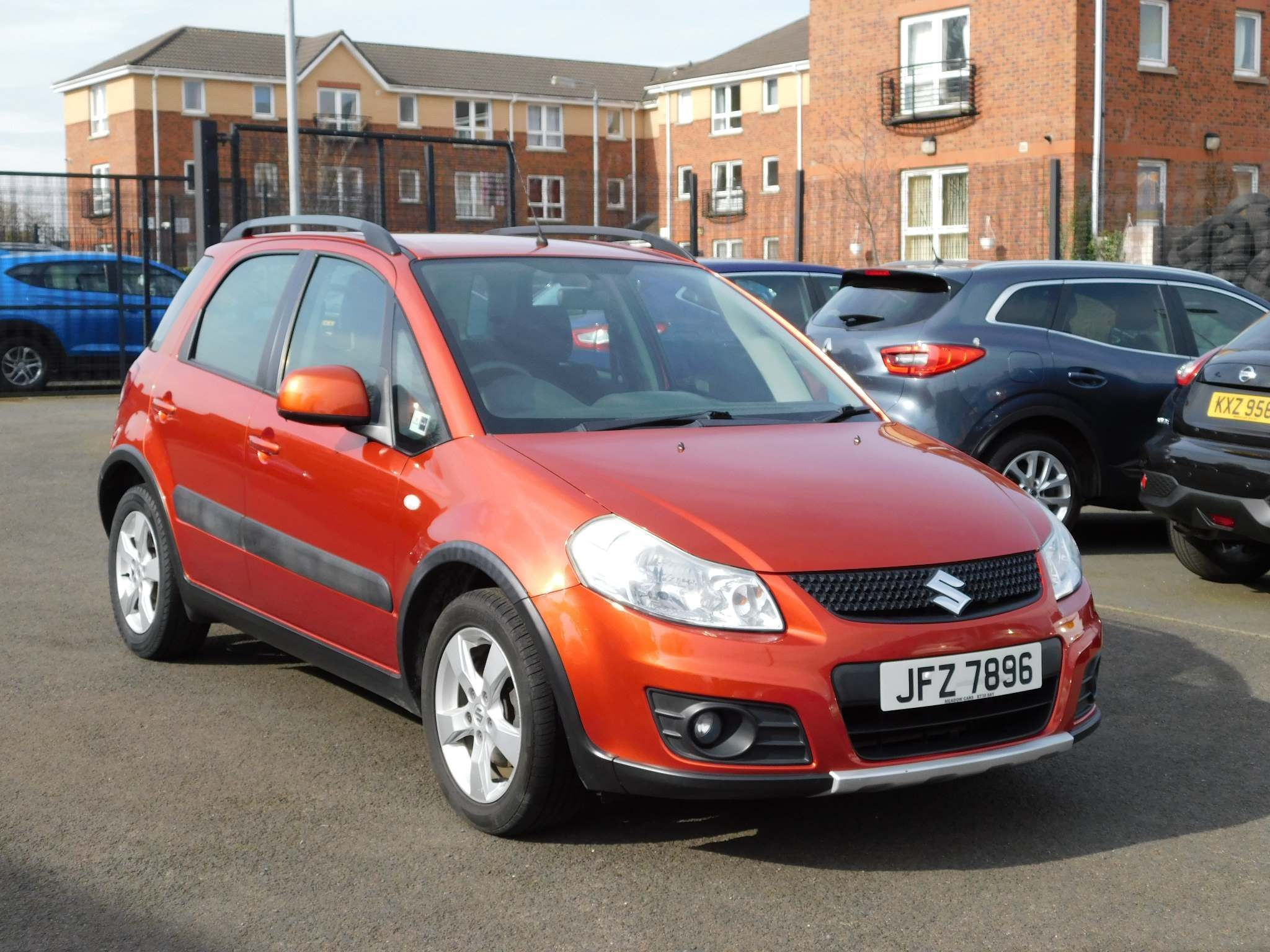 2012 SUZUKI SX4 1.6 SZ4 Petrol Manual just in – Meadow Cars Carrickfergus full