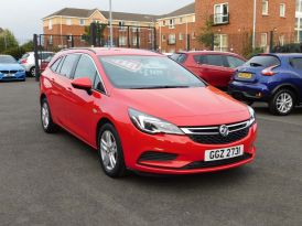 2017 VAUXHALL Astra 1.6 CDTi BlueInjection Design Sports Tourer (s/s) Diesel Manual just arrived – Meadow Cars Carrickfergus