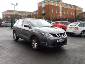 2017 NISSAN Qashqai 1.2 DIG-T Acenta (Smart Vision Pack) Petrol Manual due in sample pictures – Meadow Cars Carrickfergus