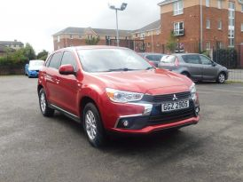 2017 MITSUBISHI ASX 1.6 2 Petrol Manual due in – Meadow Cars Carrickfergus