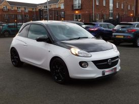 2018 VAUXHALL ADAM 1.2i ENERGISED Black Jack Petrol Manual sue in – Meadow Cars Carrickfergus
