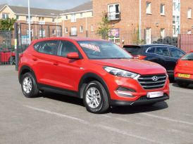 2017 HYUNDAI Tucson 1.7 CRDi Blue Drive S (s/s) Diesel Manual just arrived – Meadow Cars Carrickfergus
