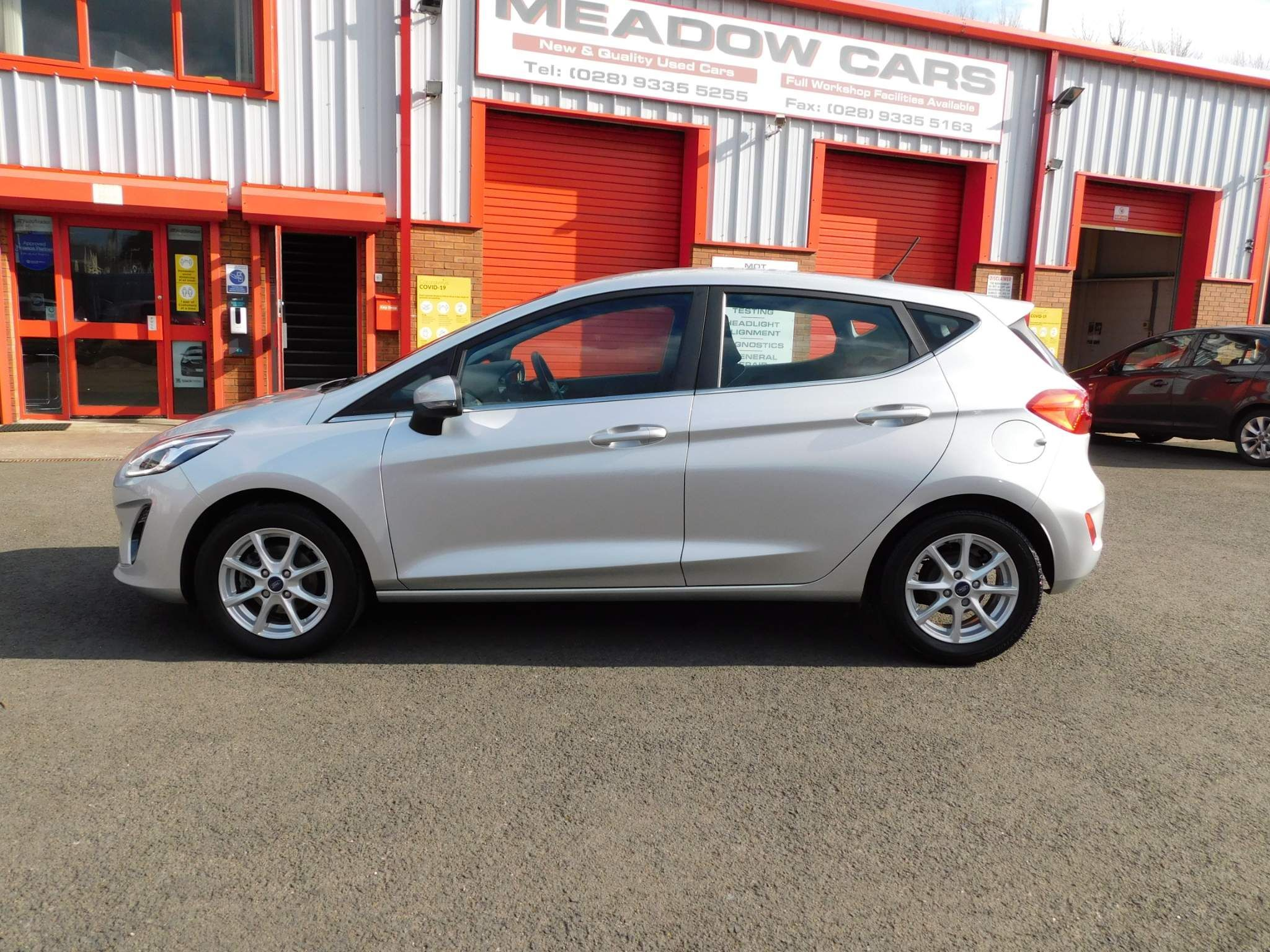 2018 FORD Fiesta 1.0T EcoBoost Zetec (s/s) Petrol Manual just arrived – Meadow Cars Carrickfergus full