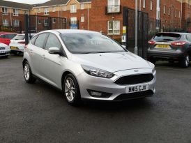 2015 FORD Focus 1.6 TDCi Zetec (s/s) Diesel Manual  – Meadow Cars Carrickfergus