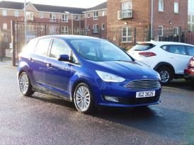 2018 FORD C-Max 1.0T EcoBoost Titanium (s/s)  (Nav) Petrol Manual just arrived – Meadow Cars Carrickfergus