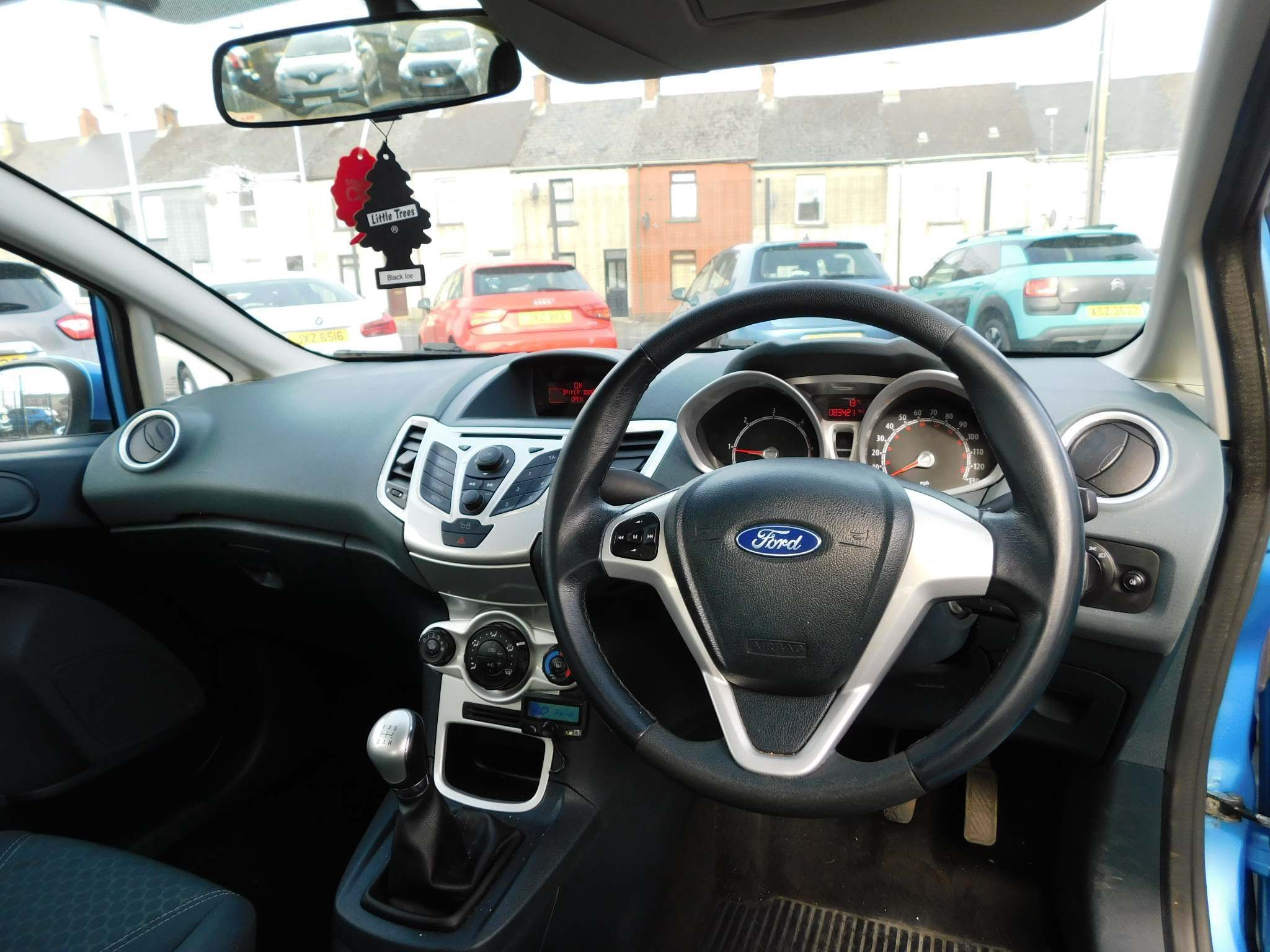 2010 FORD Fiesta 1.4 TDCi Zetec Diesel Manual new timing belt,serviced – Meadow Cars Carrickfergus full