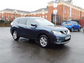 2017 NISSAN X-Trail 1.6 dCi Acenta (s/s) Diesel Manual just arrived – Meadow Cars Carrickfergus