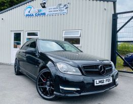 2012 Mercedes-Benz C Class C-CLASS 2.1 C220 CDI BLUEEFFICIENCY SPORT Diesel Automatic  – PMA Cars Newry
