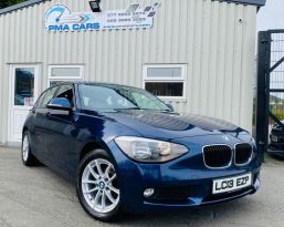 2013 BMW 1 Series 2.0 118D SE Diesel Manual  – PMA Cars Newry