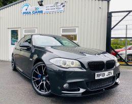 2013 BMW 5 Series 2.0 520D M SPORT Diesel Automatic  – PMA Cars Newry