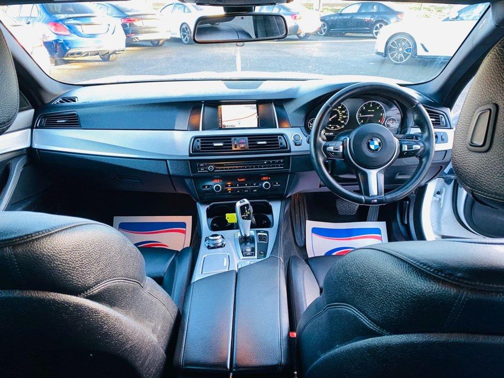 2014 BMW 5 Series 2.0 518D M SPORT Diesel Automatic  – PMA Cars Newry full
