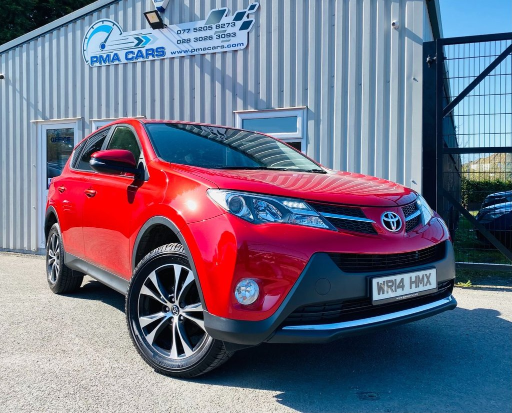 2014 Toyota RAV4 2.0 D-4D ICON Diesel Manual  – PMA Cars Newry full