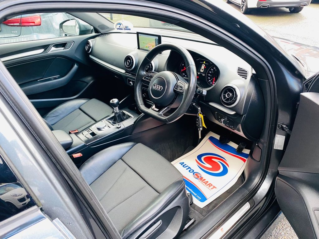 2015 Audi A3 1.6 TDI S LINE Diesel Manual  – PMA Cars Newry full