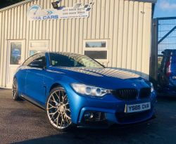 2015 BMW 4 Series 3.0 430D M SPORT GRAN COUPE Diesel Automatic  – PMA Cars Newry