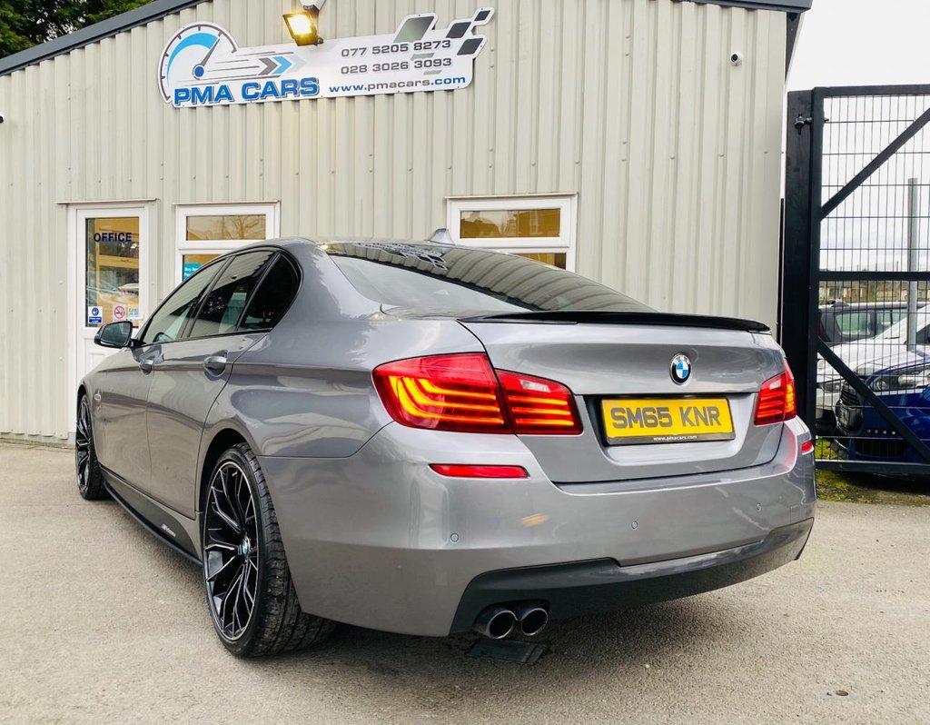 2015 BMW 5 Series 2.0 520D M SPORT Diesel Automatic  – PMA Cars Newry full