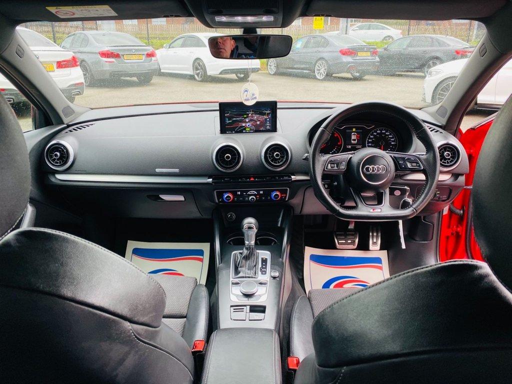 2016 Audi A3 1.6 TDI S LINE Diesel Semi Auto  – PMA Cars Newry full