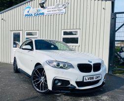 2016 BMW 2 Series 2.0 218D M SPORT Diesel Manual  – PMA Cars Newry