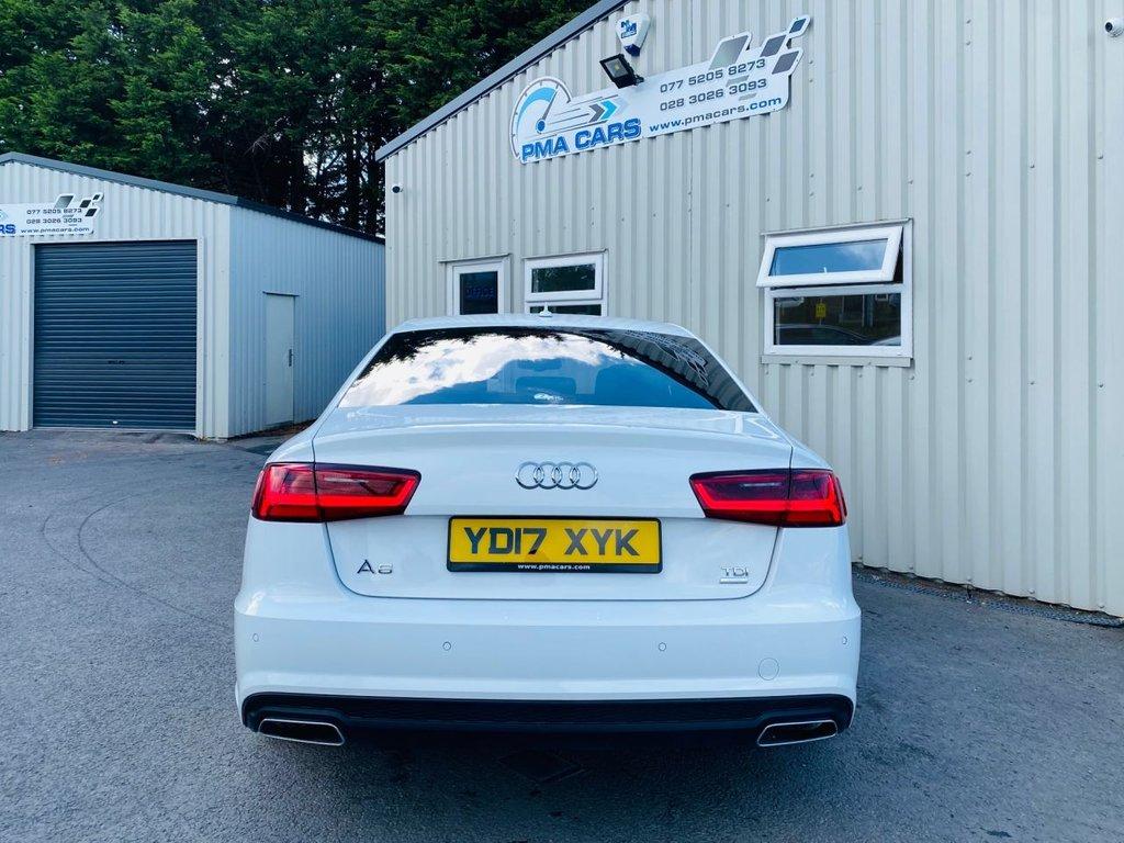 2017 Audi A6 2.0 TDI ULTRA BLACK EDITION Diesel Semi Auto  – PMA Cars Newry full