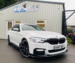2017 BMW 5 Series 2.0 520D M SPORT Diesel Automatic  – PMA Cars Newry