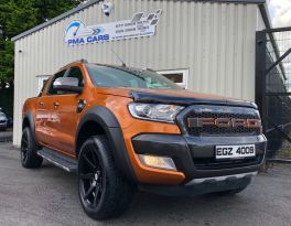2017 Ford Ranger 3.2 WILDTRAK 4X4 DCB TDCI Diesel Automatic  – PMA Cars Newry