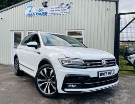 2017 Volkswagen Tiguan 2.0 R-LINE TDI BLUEMOTION TECHNOLOGY DSG Diesel Semi Auto  – PMA Cars Newry