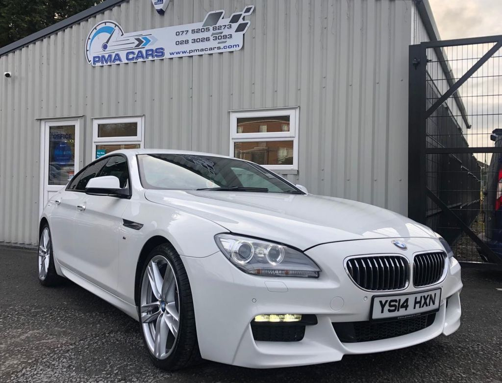 2014 BMW 6 Series 3.0 640D M SPORT GRAN COUPE Diesel Automatic  – PMA Cars Newry