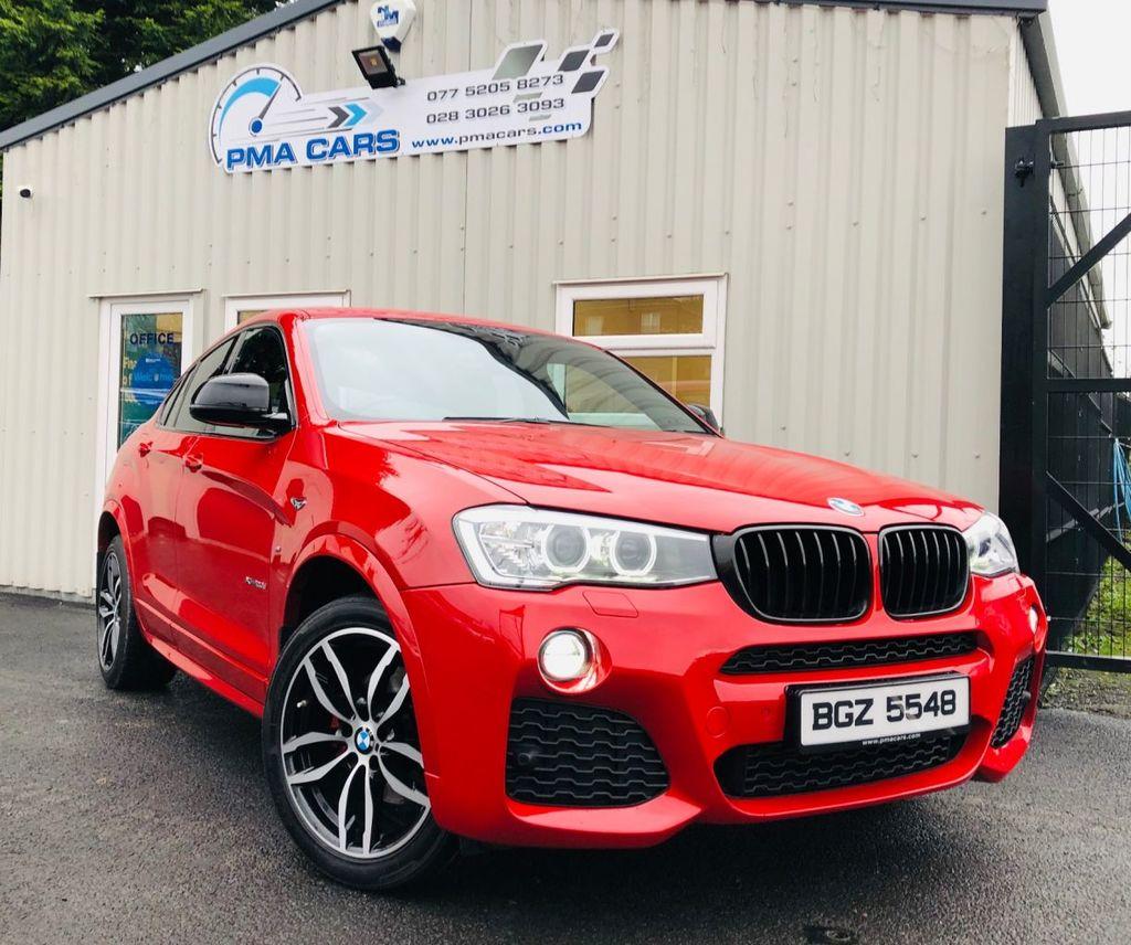 2015 BMW X4 2.0 XDRIVE20D M SPORT Diesel Automatic  – PMA Cars Newry