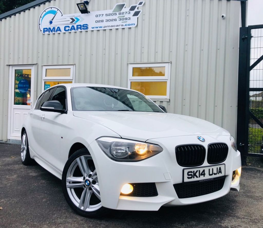 2014 BMW 1 Series 2.0 116D M SPORT Diesel Manual  – PMA Cars Newry