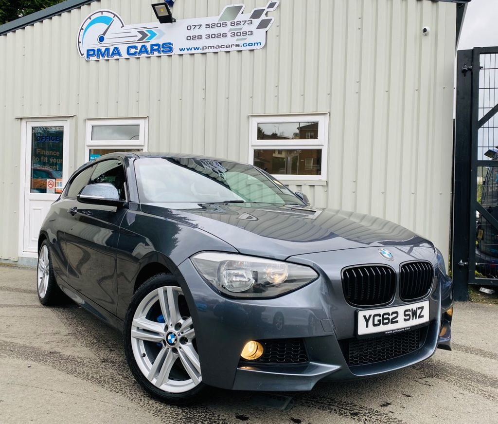 2012 BMW 1 Series 1.6 116I M SPORT Petrol Manual  – PMA Cars Newry