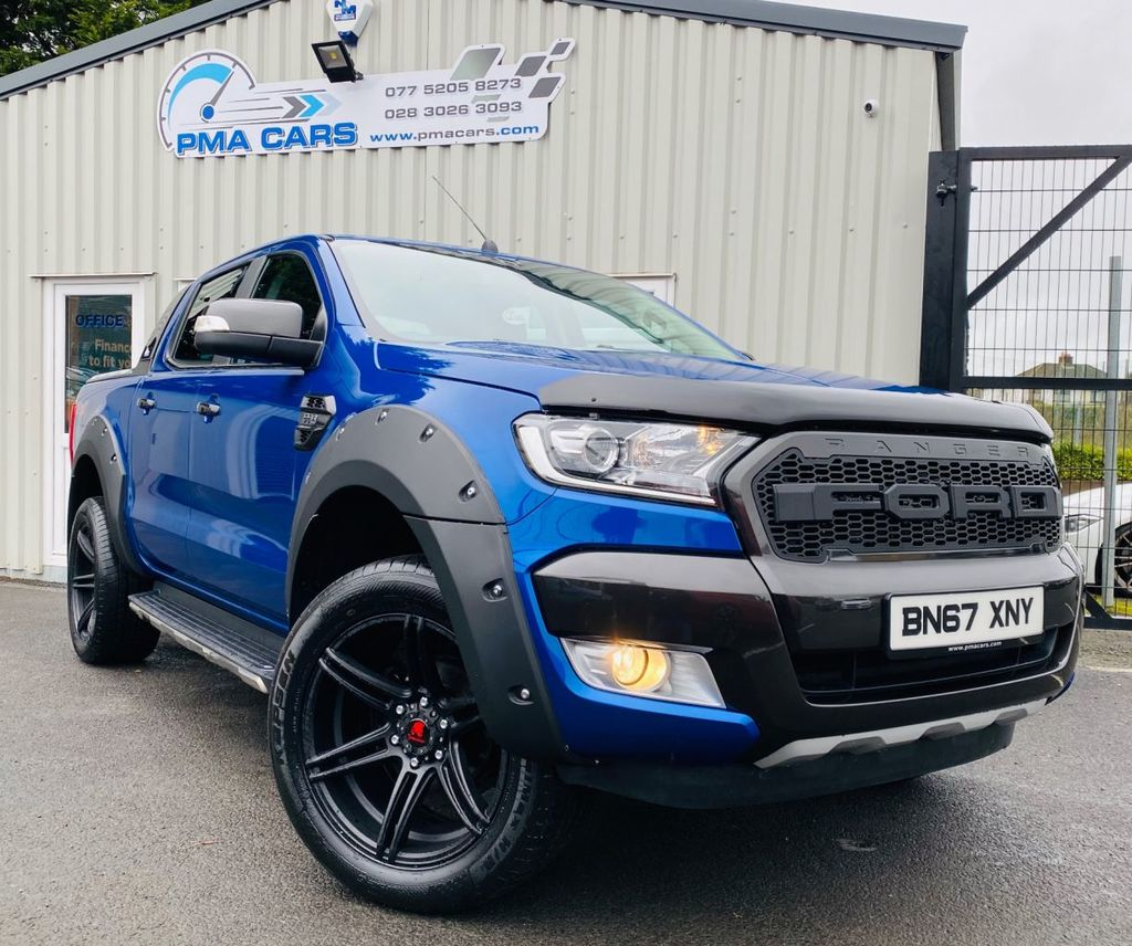 2017 Ford Ranger 2.2 LIMITED 4X4 DCB TDCI Diesel Manual  – PMA Cars Newry