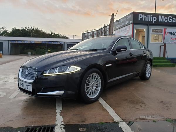 2011 Jaguar XF 2.2d  SE  4dr  Auto Diesel Automatic/Other  – Philip McGarrity Cars Newtownabbey