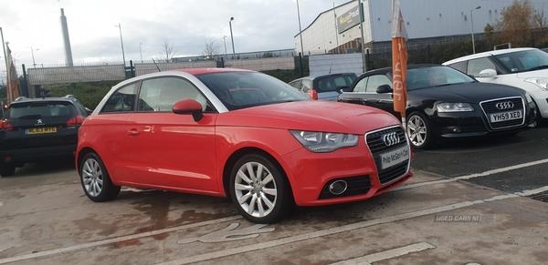 2011 Audi A1 SPORT,  DOCUMENTED  SERVICE  HISTORY  £99  deposit  £99  … Diesel Manual  – Philip McGarrity Cars Newtownabbey