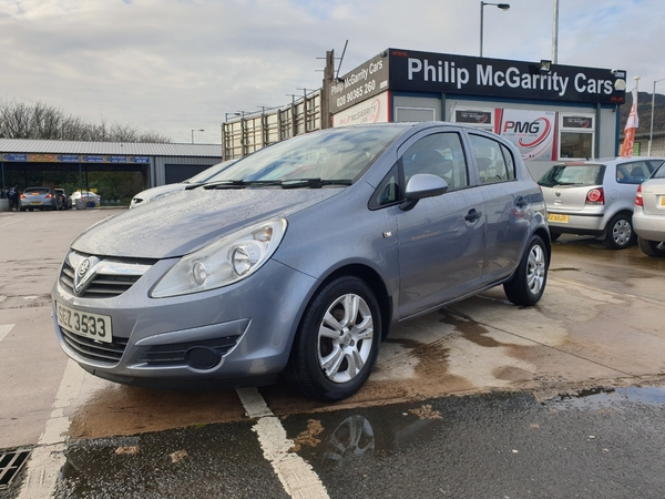 2008 Vauxhall Corsa 1.2i  16V  Breeze  5dr Petrol Manual  – Philip McGarrity Cars Newtownabbey