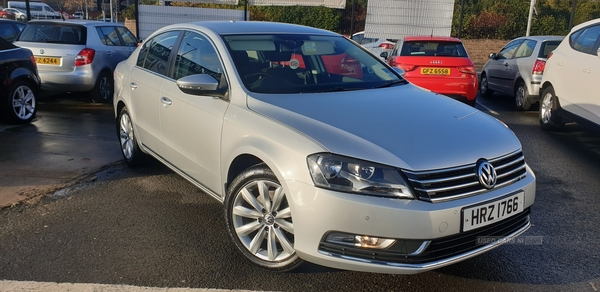 2014 Volkswagen Passat 1.6  TDI  Bluemotion  Tech  Highline  4dr Diesel Manual  – Philip McGarrity Cars Newtownabbey