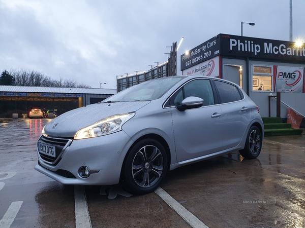 2013 Peugeot 208 1.2  VTi  Intuitive  5dr Petrol Manual  – Philip McGarrity Cars Newtownabbey