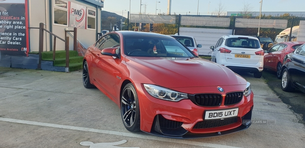 2015 BMW M4 2dr  DCT Petrol Semi-Automatic  – Philip McGarrity Cars Newtownabbey