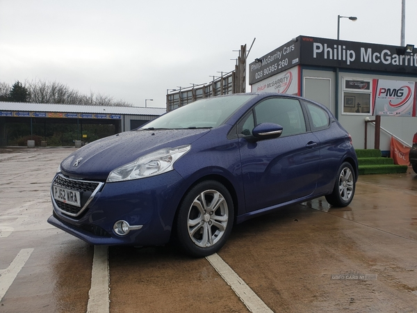 2013 Peugeot 208 1.4  VTi  Active  3dr Petrol Manual  – Philip McGarrity Cars Newtownabbey