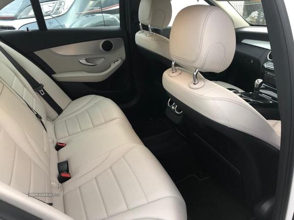 2015 Mercedes C-Class C200  BlueTEC  Sport  4dr Diesel Manual  – Philip McGarrity Cars Newtownabbey full