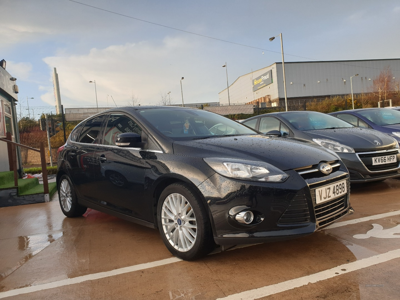 2014 Ford Focus 1.0  EcoBoost  Zetec  5dr Petrol Manual  – Philip McGarrity Cars Newtownabbey